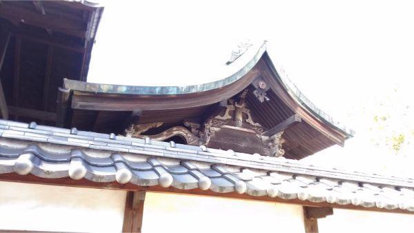 松本神社の摂社 若宮神社本殿