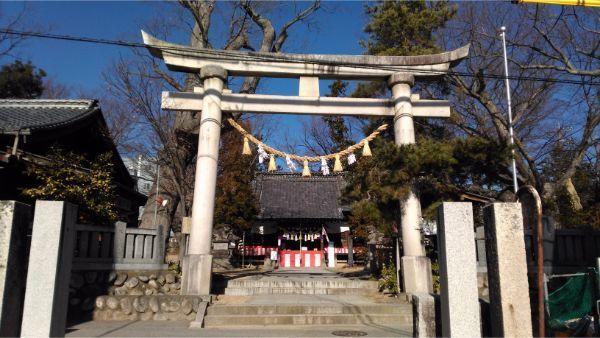 鹽竈神社の境内入口