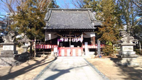 鹽竈神社の拝殿