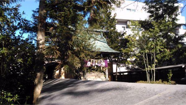 鹽竈神社の本殿