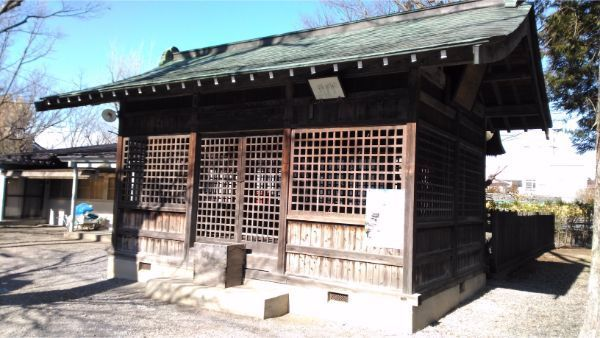 若宮八幡社の拝殿