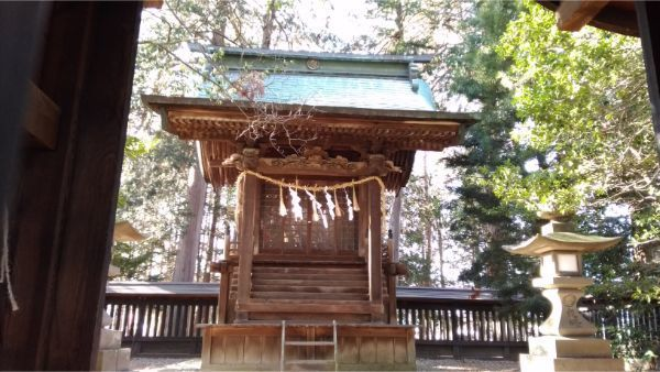 都波岐神社本殿