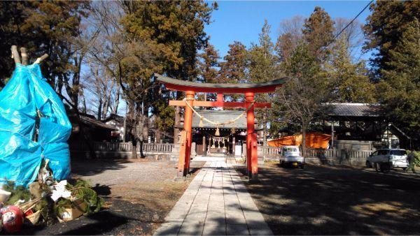 筑摩神社の二の鳥居