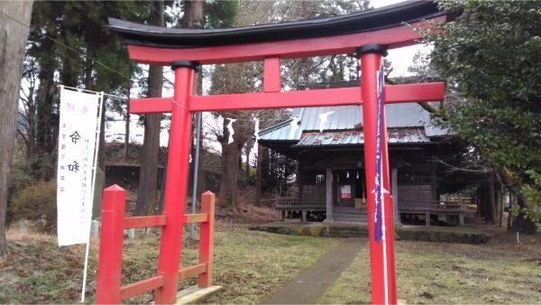 日連神社の鳥居