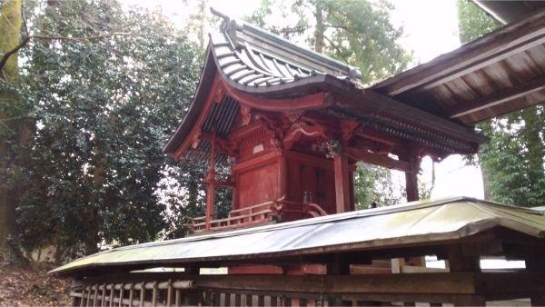 日連神社本殿