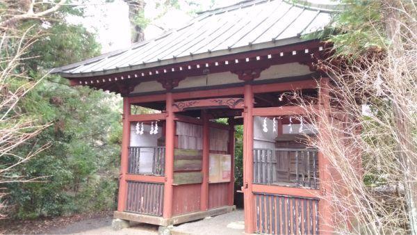 石楯尾神社の随神門