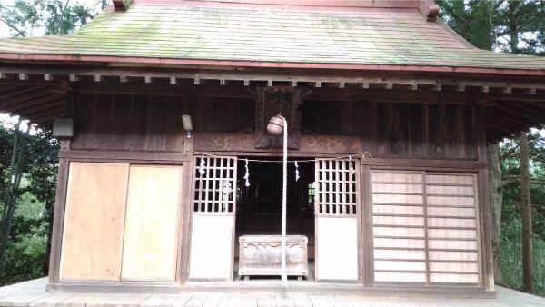 犬島神社の拝殿