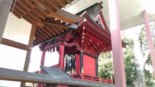 三嶋神社本殿