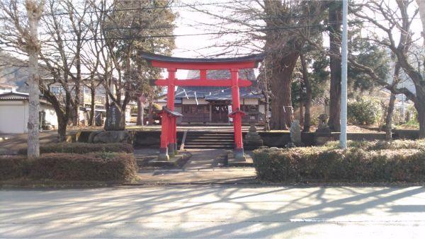 八王子神社の境内入口