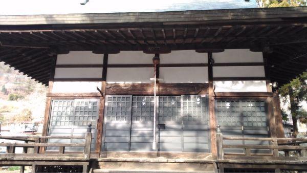 稲村神社の拝殿