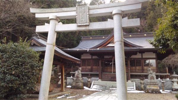 稲村神社の入口