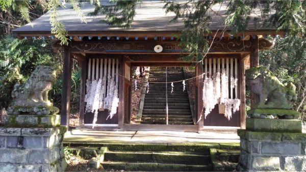 氷川神社の随神門