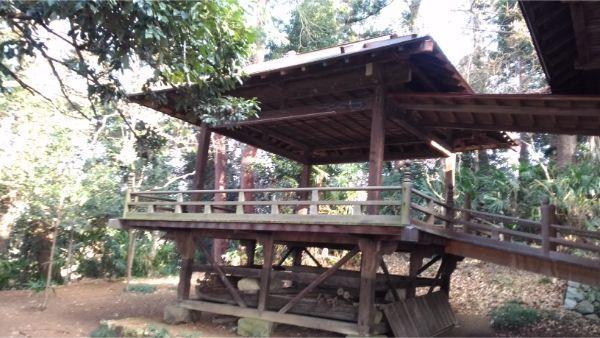 氷川神社の神楽殿