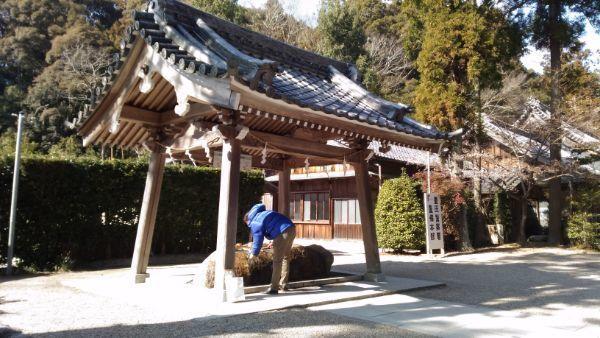 猿投神社の手水舎