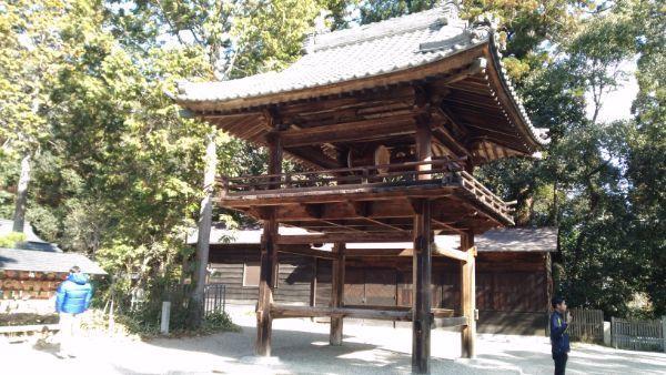 猿投神社の太鼓楼