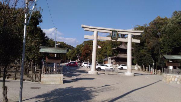 知立神社の鳥居