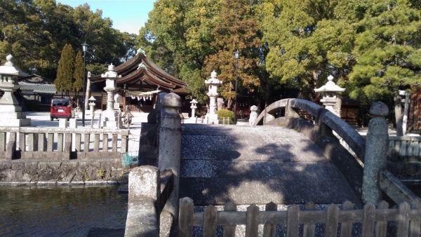 知立神社の太鼓橋