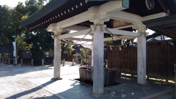 知立神社の手水舎