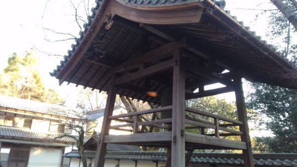 定光寺の鐘楼