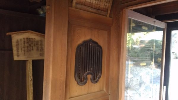 竜の門の火灯窓