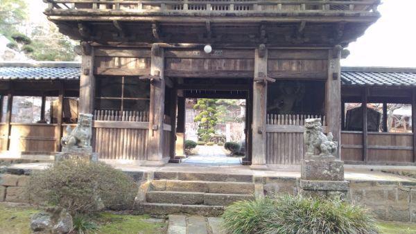 貞祥寺山門1階部分