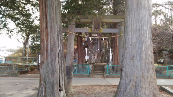 平賀神社の鳥居