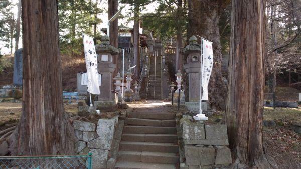 平賀神社の石段