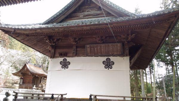 新海三社神社神楽殿