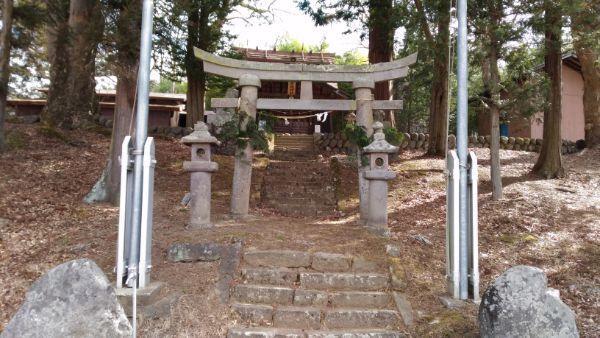 平林神社の鳥居
