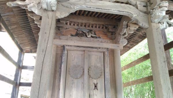 熊野神社本殿の母屋正面