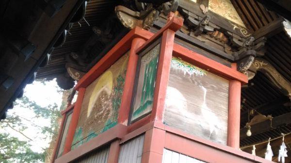 住吉神社本殿の左後方