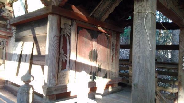 日吉神社本殿の母屋