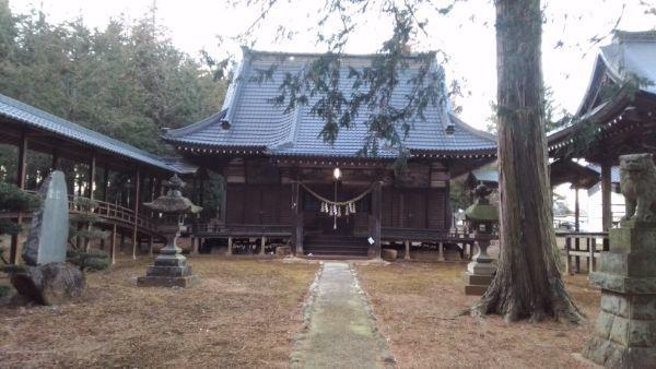 熱那神社拝殿