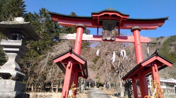 穂見神社の鳥居
