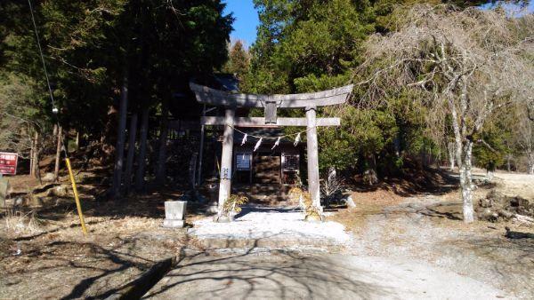 穂見神社二の鳥居