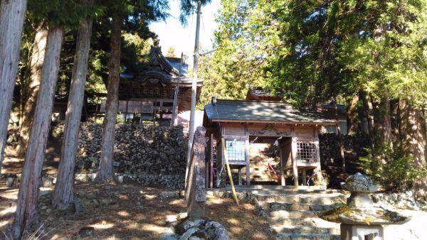 穂見神社の社殿
