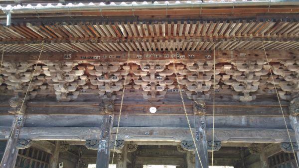 妙法寺三門1階