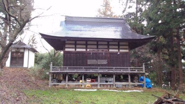 蚊里田八幡宮神楽殿