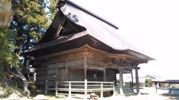 布制神社拝殿