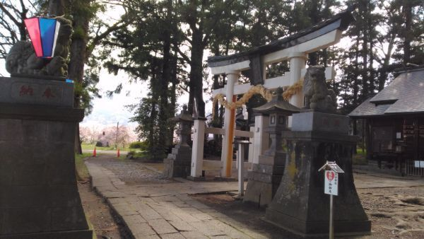 治田神社二の鳥居