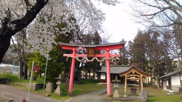 治田神社の鳥居
