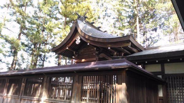 治田神社本殿