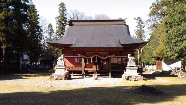 佐良志奈神社拝殿