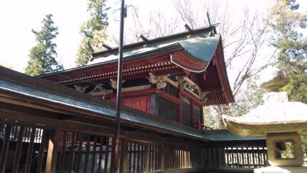 佐良志奈神社本殿