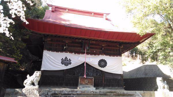 波閇科神社拝殿