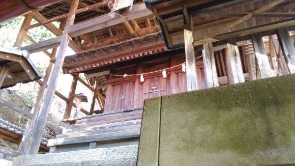 波閇科神社本殿