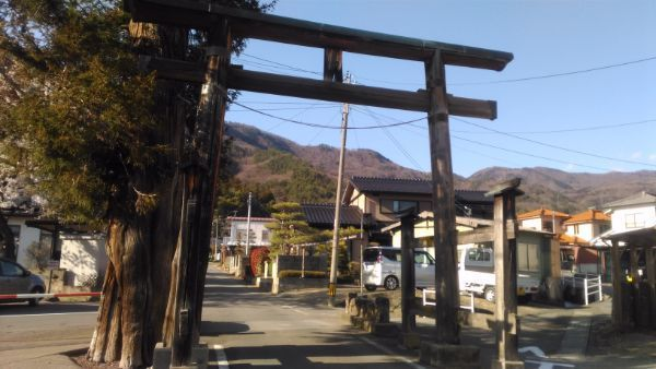 坂城神社一の鳥居