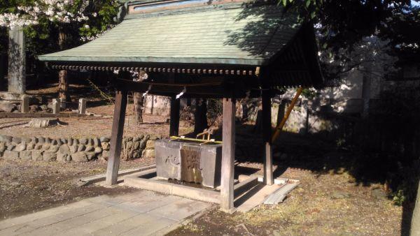 坂城神社の手水舎