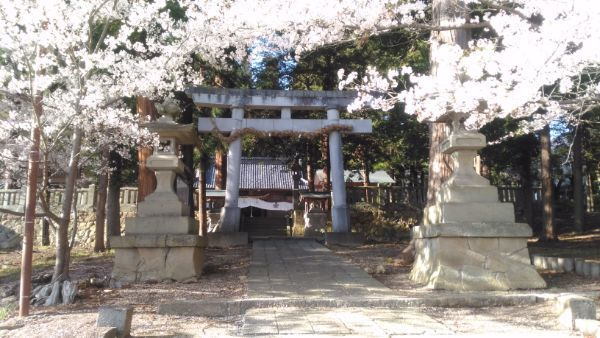 坂城神社二の鳥居