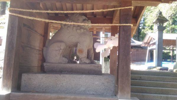 坂城神社の狛犬